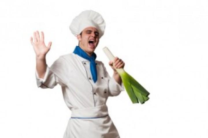 pierre singing chef